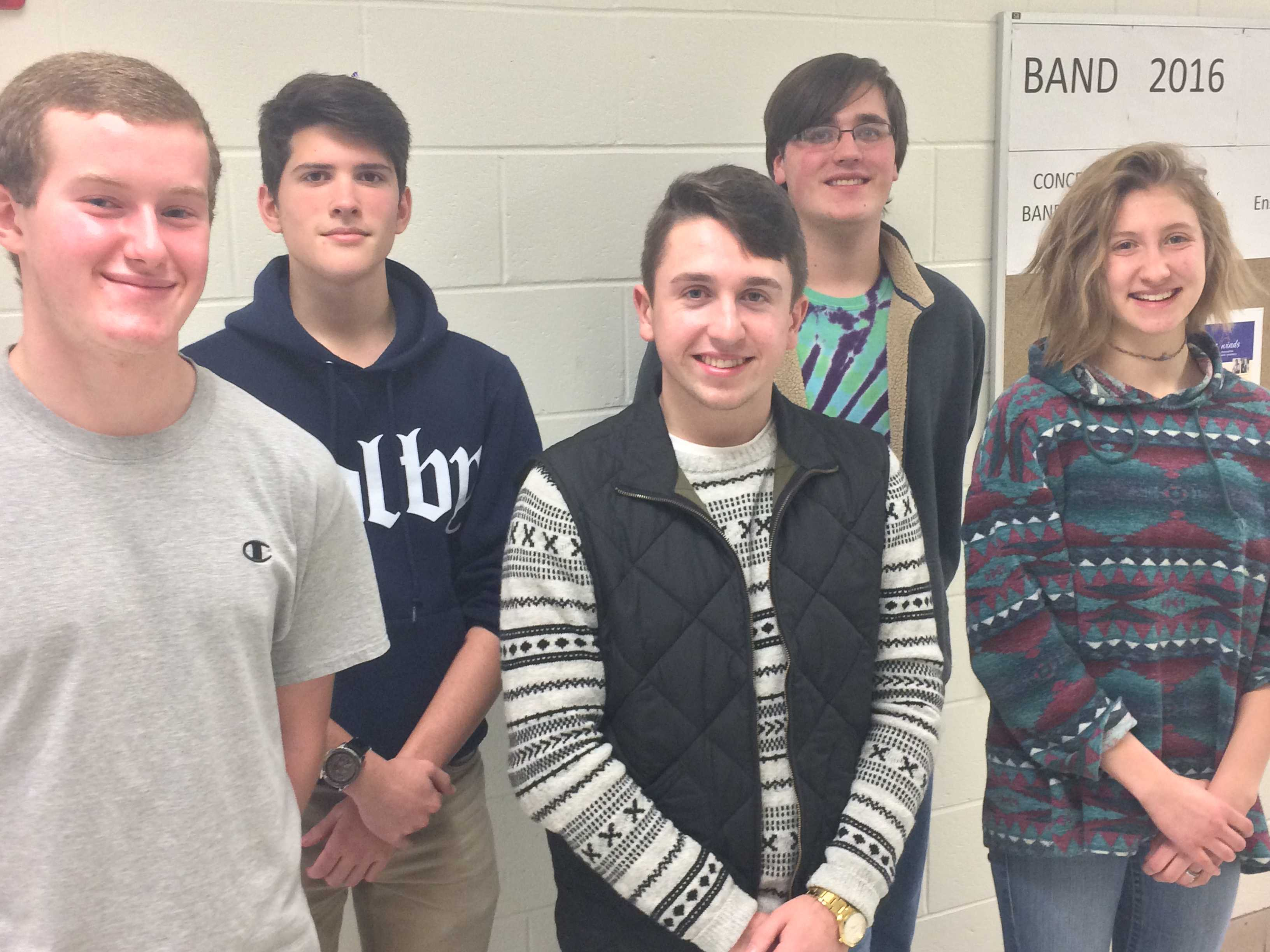 Music Students Selected for District Festival