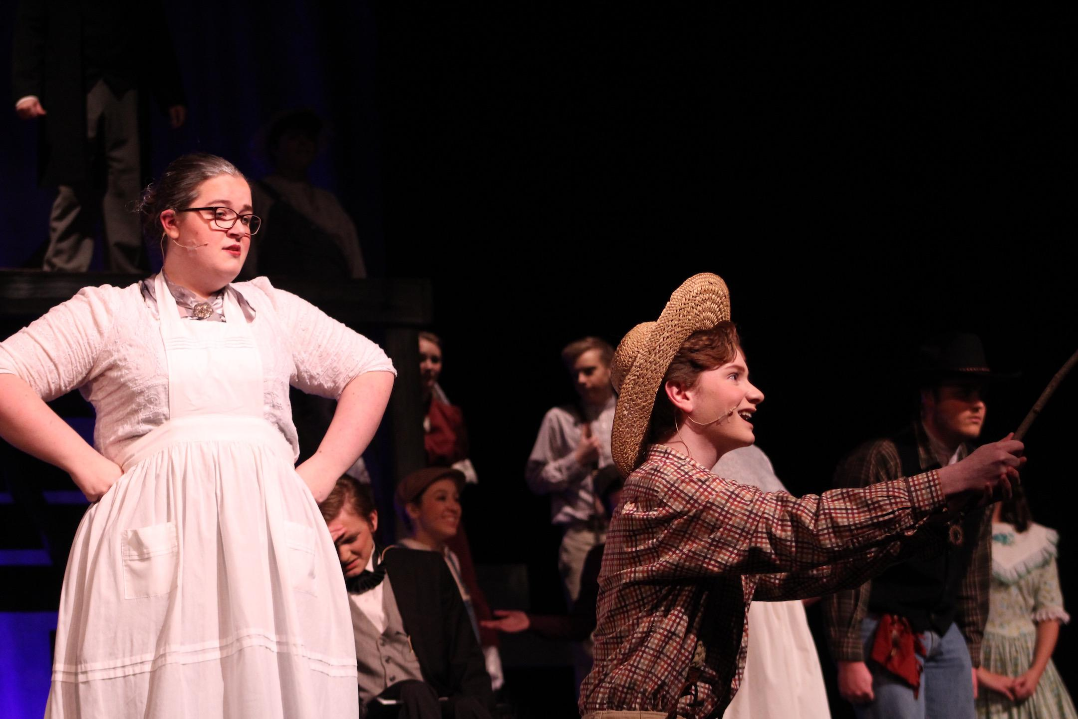 The Drama Society performs The Adventures of Tom Sawyer. | by Siobhan Richards