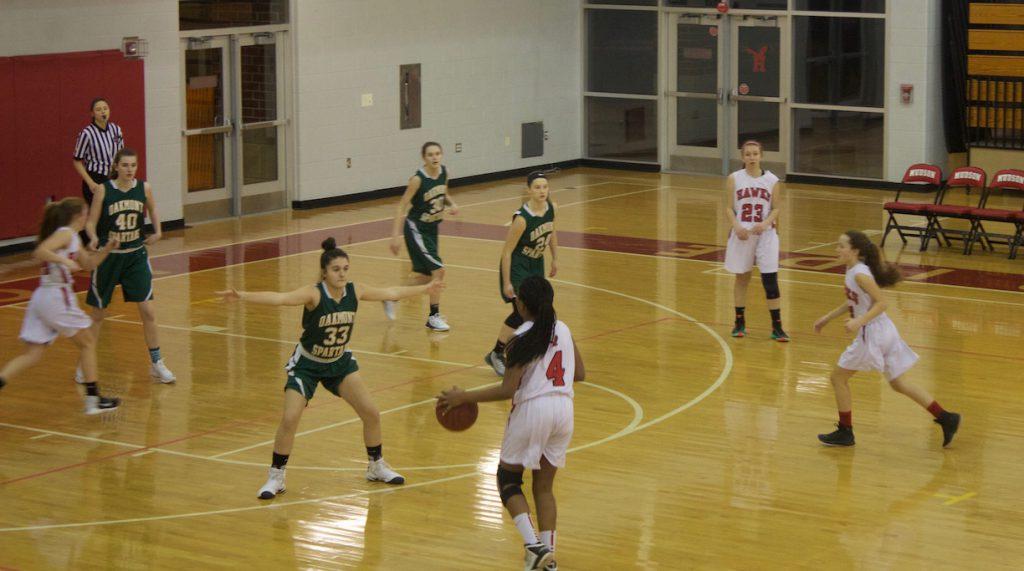 JV Girls Basketball vs. Oakmont (Gallery)