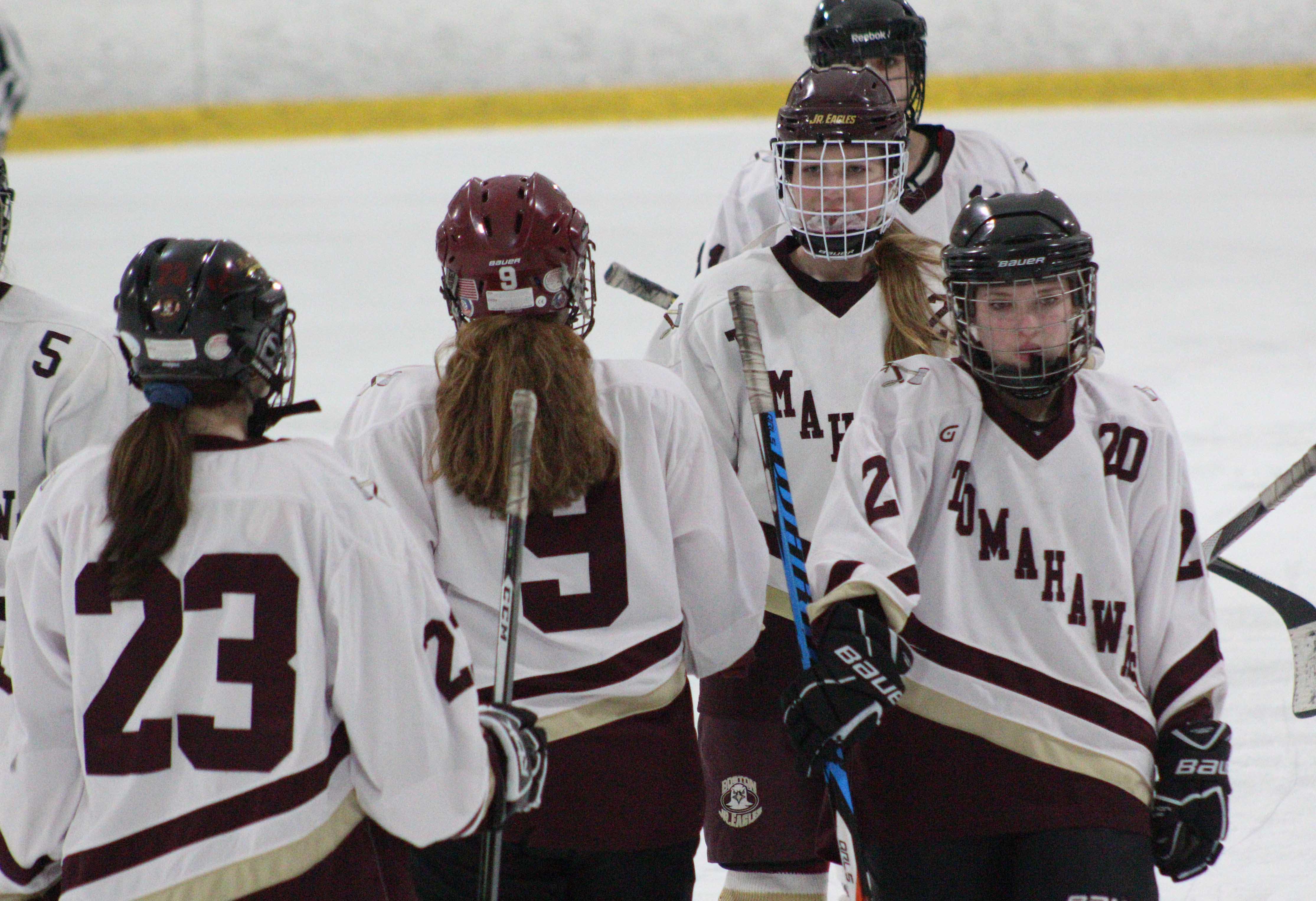 Girls Hockey vs. Leominster (Gallery)