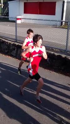 Jake Doherty-Munro running during his freshman season.   by Dakota Antelman