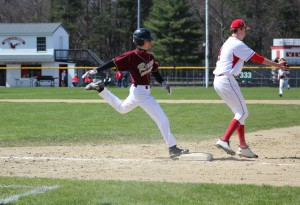 Base running, Pitching Power Baseball Team to 7-0 Win