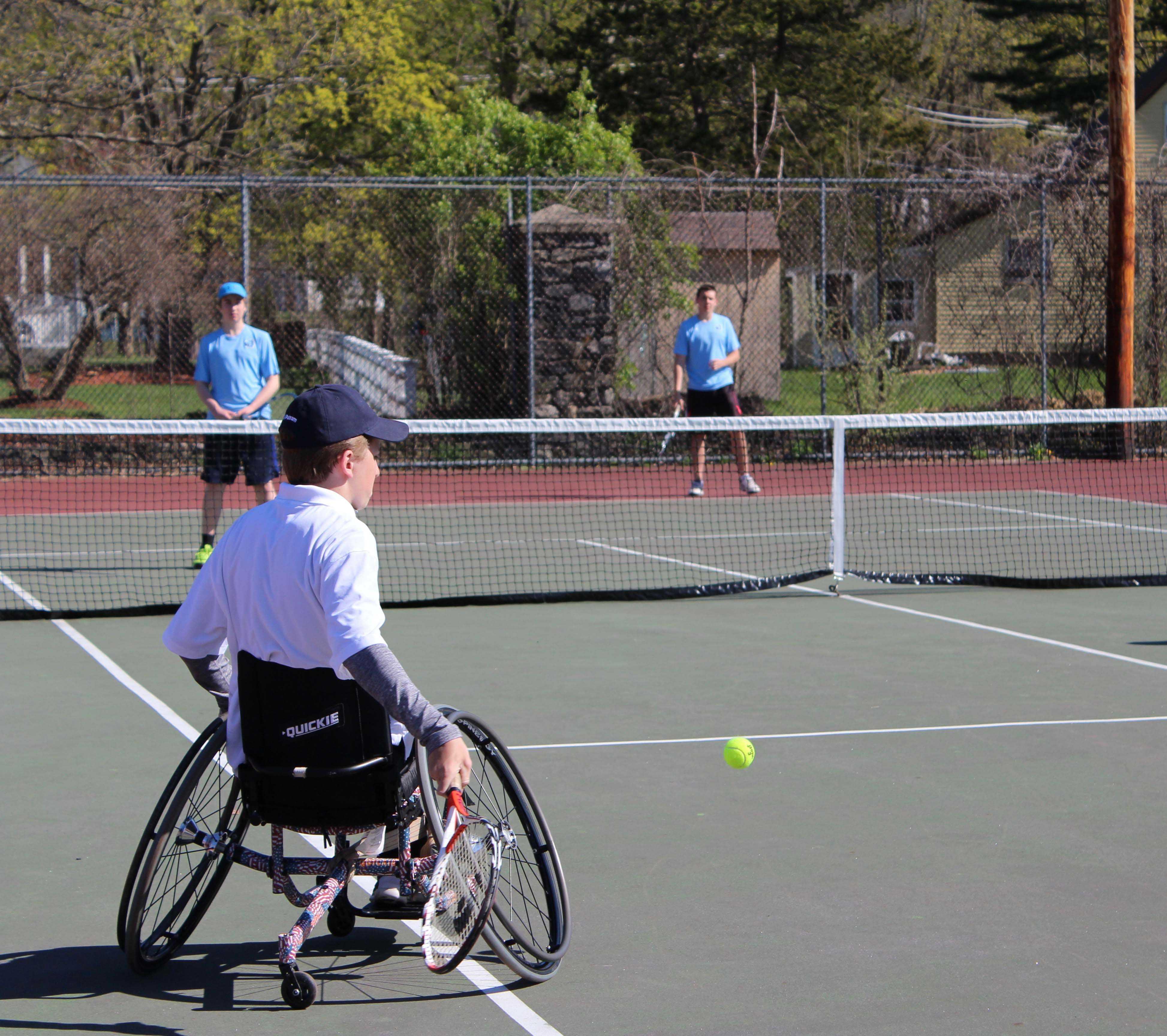 Owen Anketell Becomes Hudson's First Wheelchair Tennis Player