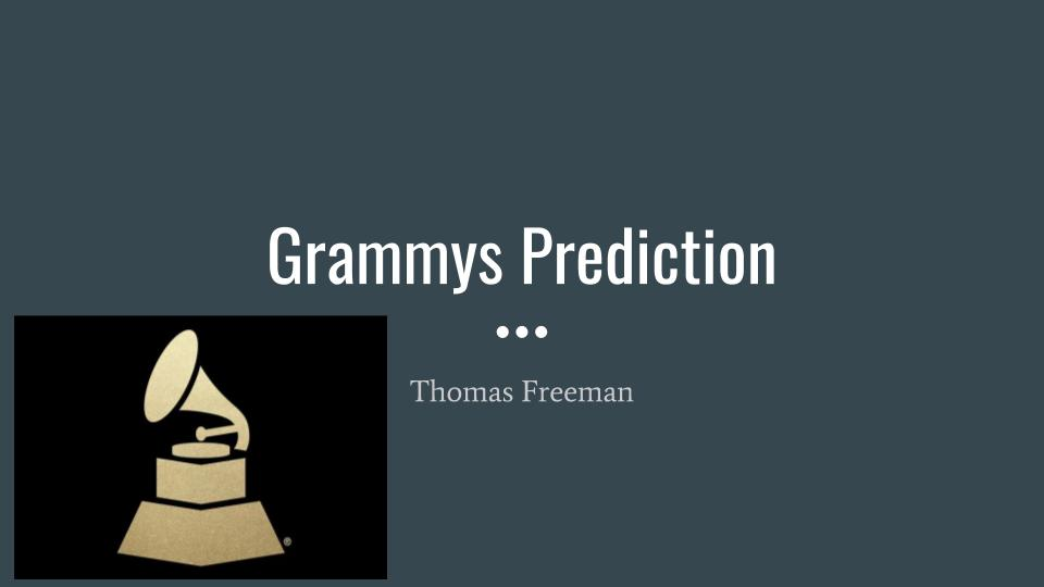 Grammy Predictions
