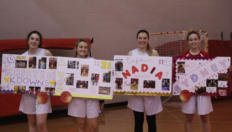 Girls Basketball Senior Night (Gallery)