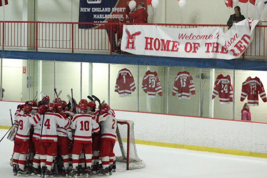 Varsity Boys Hockey vs. Groton-Dunstable (Gallery)