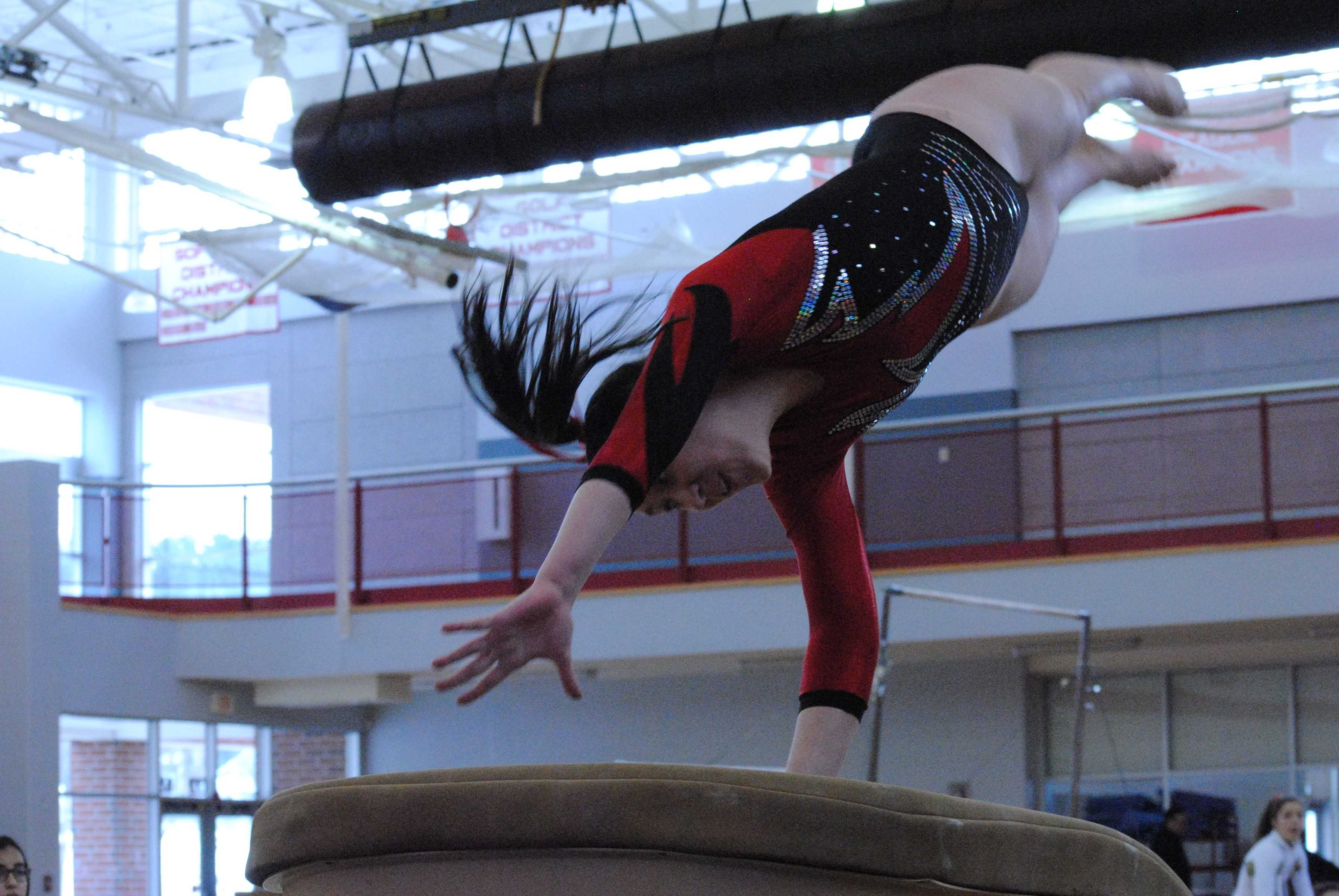 Gymnastics vs. Algonquin (Gallery)