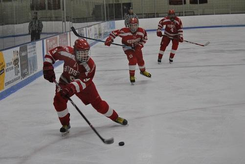 Hockey Ties Marlborough, Secures Playoff Spot in Tense Rivalry Matchup