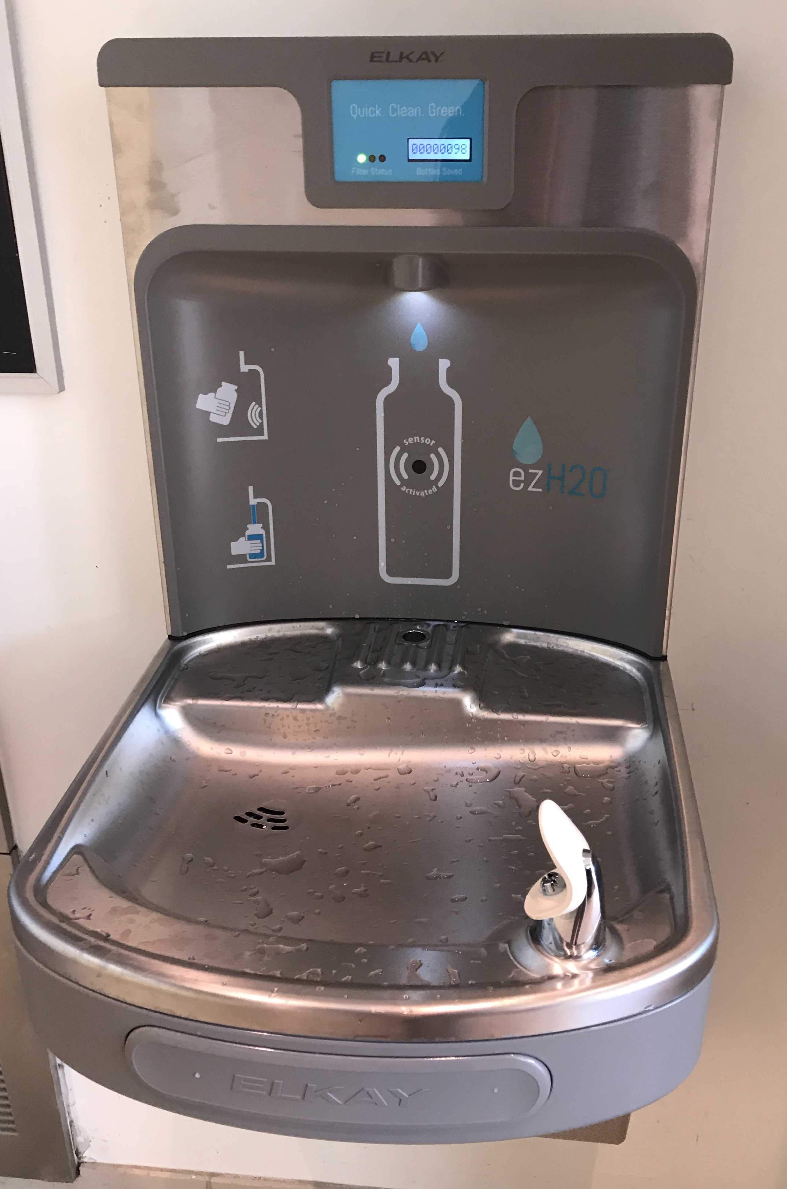 The new water bottle filler | by Juliana Freeman