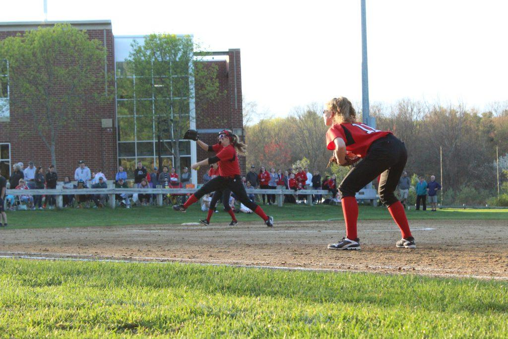 +Junior+Sophia+Togneri+pitches+each+inning+making+several+outs.+%7C+by+Juliana+Freeman+