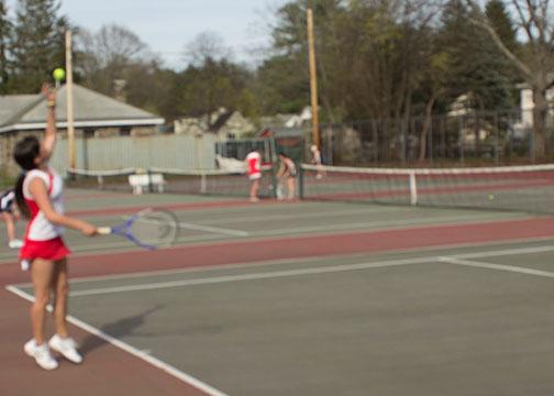 Girls Tennis vs Quabbin (Gallery)