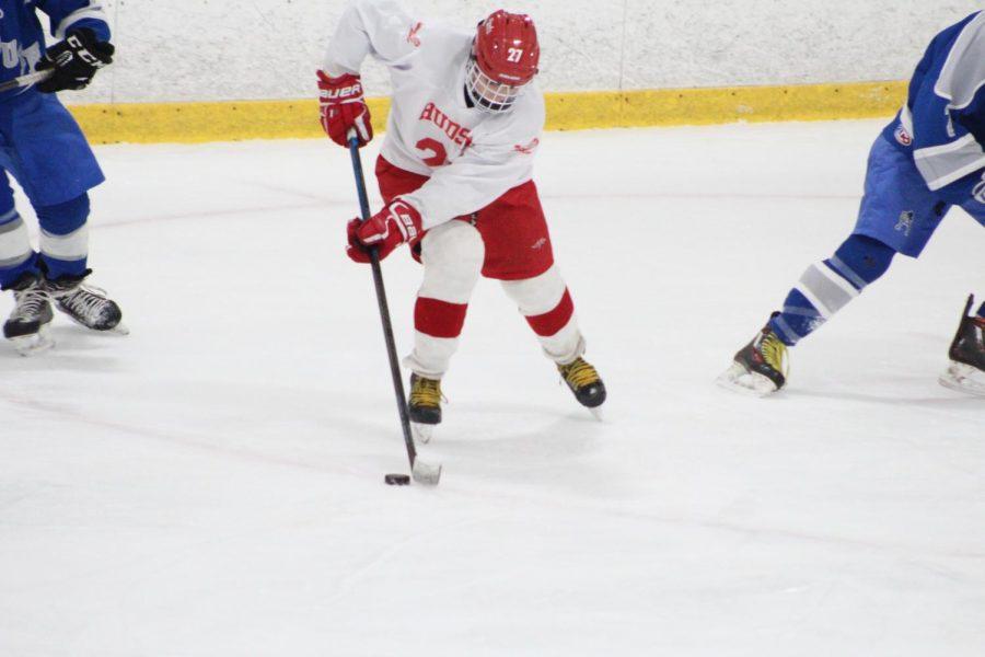 Hudson Boys Varsity Hockey vs. Auburn