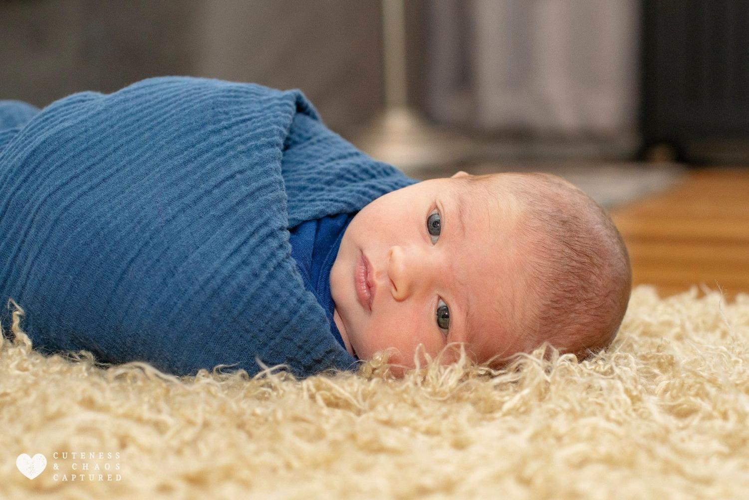 Alex Barker is nearly one month old | photo courtesy Carissa Barker