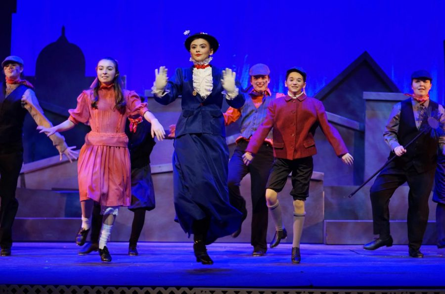 The+ensemble+and+Usher+tap+through+the+number+%22Stepping+Time%22+in+March+production+of+Mary+Poppins.