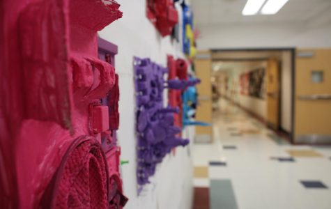 Assemblage art by beginning art students |by Carra Flood