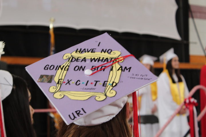 Graduate's cap with a personal touch |by Veronica Mildish