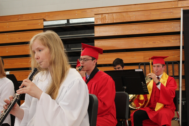 Graduates in the band |by Veronica Mildish
