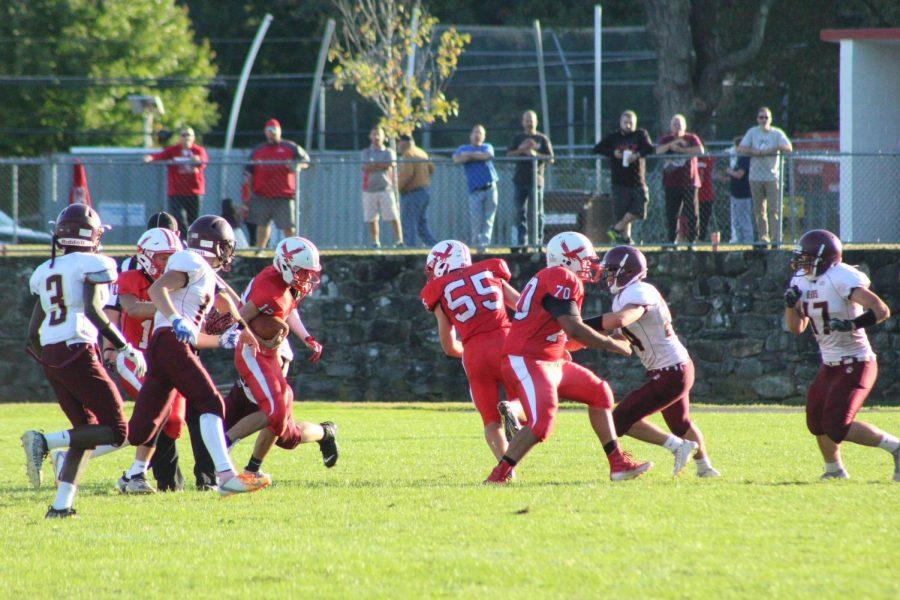 Hawks run the ball | by Camilla Miranda