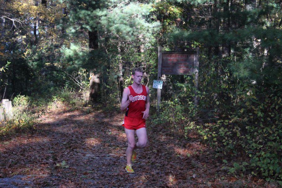 Richie Mattocks runs through getting 4th place, getting 17:10.