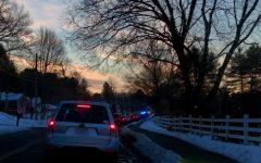 HHS Fender Bender Causes Traffic Jam, Delays Students
