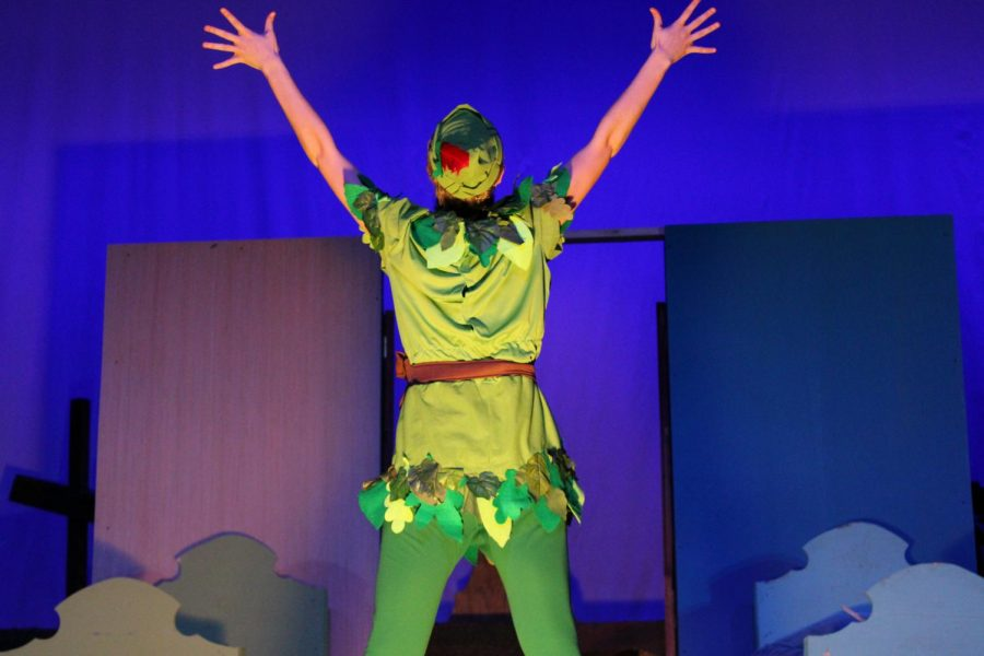 Peter Pan gets his shadow back |by Brianna Devlin