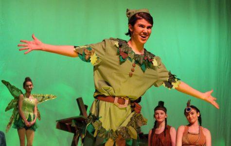 Junior Maia Frias as Peter Pan |by Brianna Devlin