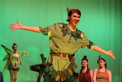 Junior Maia Frias as Peter Pan |by Brianna Devlin