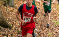 Firth during cross country | photo provided by Hudson High Yearbook