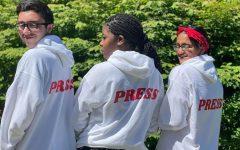 Next years editors for The Big Red: Dylon Medeiros, Jane Jeudy and Avani Kashilkar