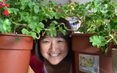Julie Snyders love of plants will continue as she retires this June| photo provided by Judy Pavao