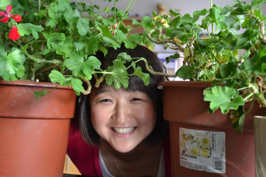 Julie Snyder's love of plants will continue as she retires this June| photo provided by Judy Pavao